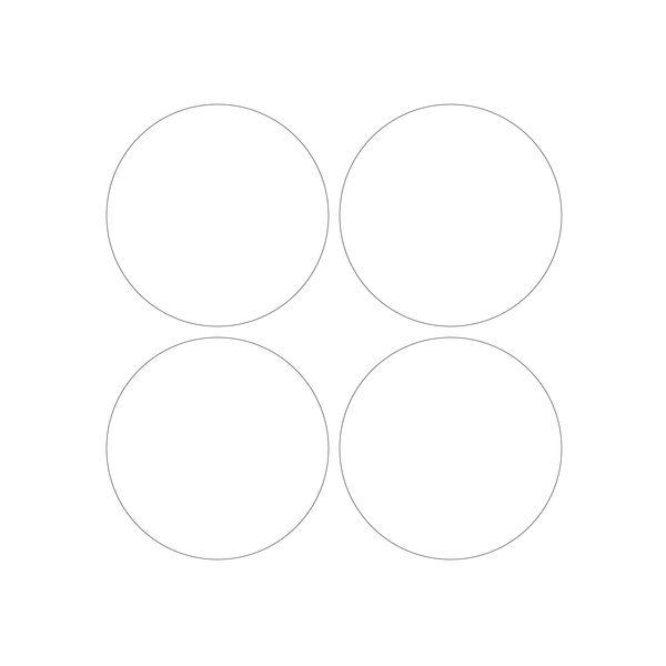 Штампы для вырубки кружков 10 см