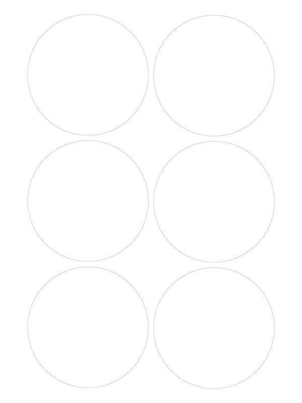Штампы для вырубки кружков 12 см