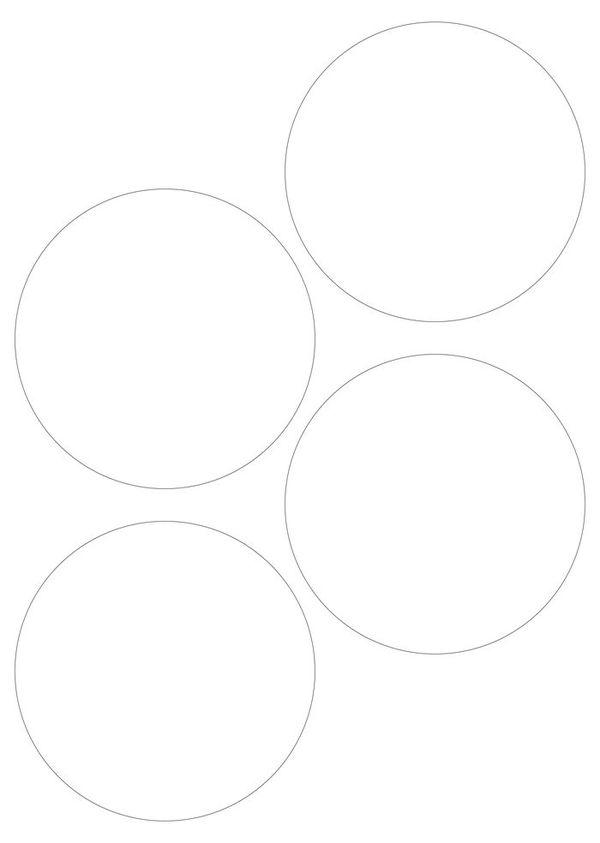 Штампы для вырубки кружков 16 см