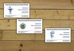 Дизайн визитки Стоматологического направления
