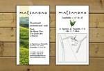 Дизайн визитки для компании Maliandao Tea